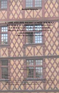 Herencia 2012 - Pierre Philippe Lemercier de la Rivière - Discours