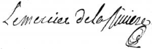 Signature lemercier